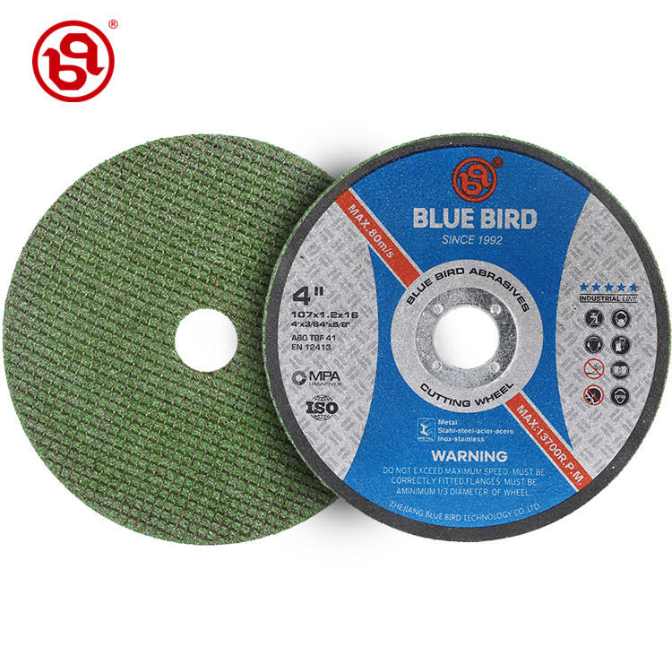 Free Sample customized size 4 inch green cutting wheel