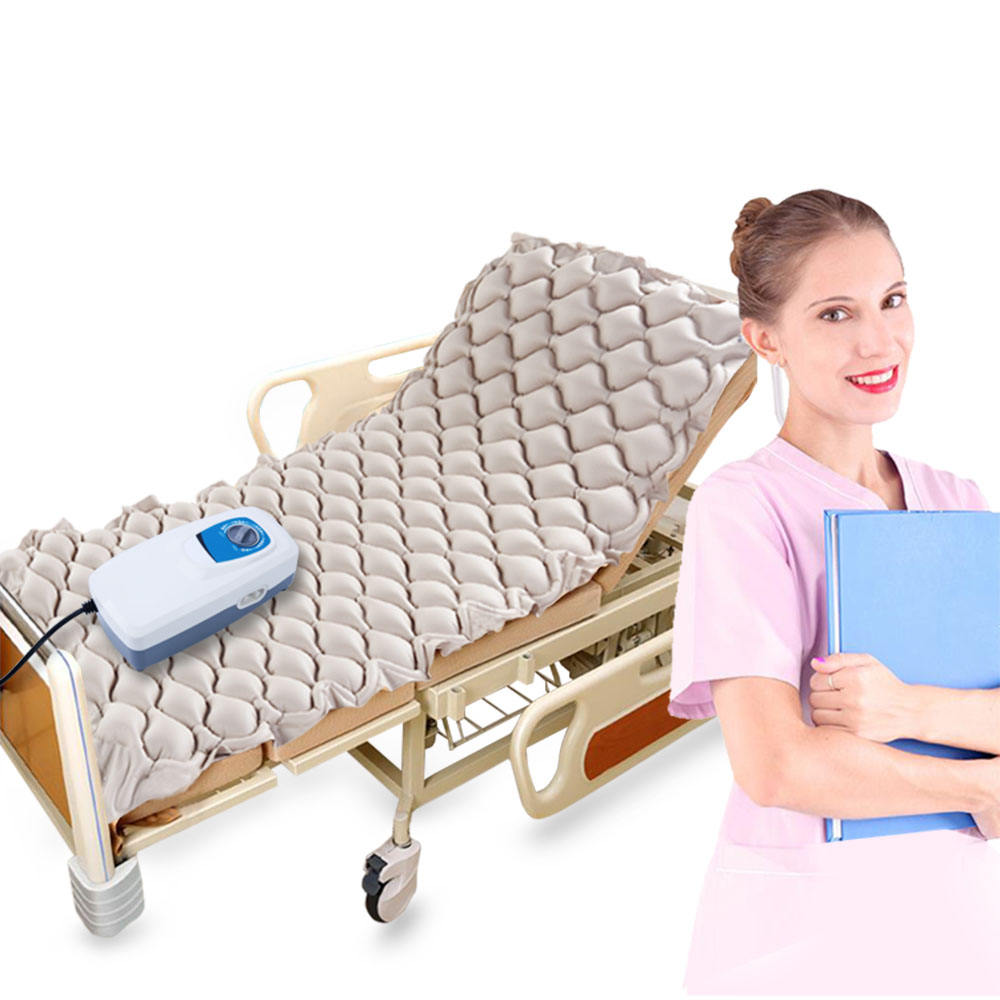 low price china topcare anti bedsore medical elderly air mattress bubble bed