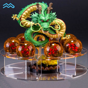 Custom Zeven Hars Ster Bal Figuras Pvc Dragon Ball Z Model Set Action Figure Speelgoed Met Acryl Stand
