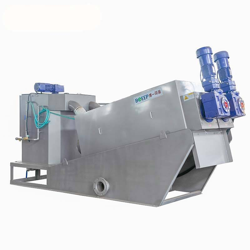 Sludge Dewatering Machine For Diatomaceous Earth Filter And Textile Manufacturer (MYDL101)