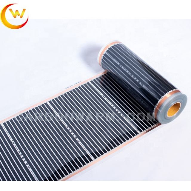 Infrared carbon fiber hanging wall bathroom floor heater parts