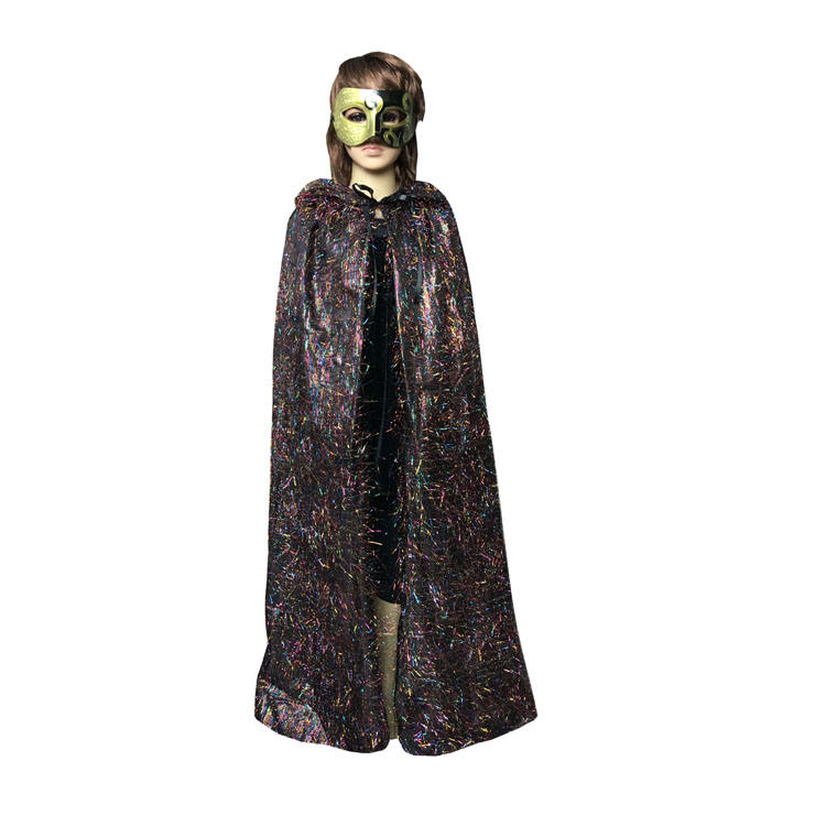 YHWSJ206 Chine Gros Costume Maman Et Fils Assortis Tenues Halloween Cape Enfants