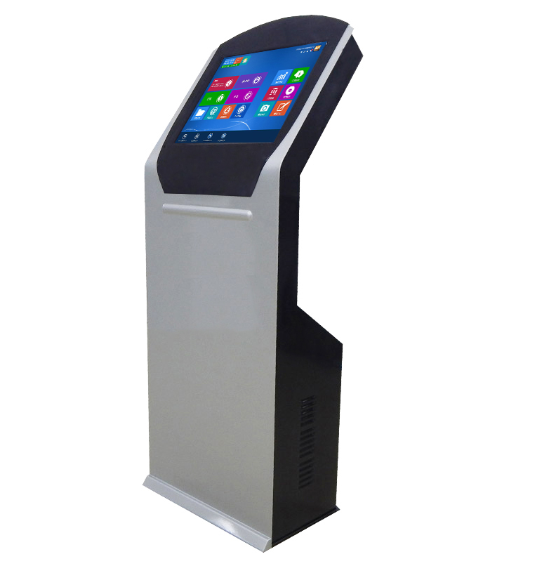 Self Service Payment Kiosk With Atm Bill Printing Photo Booth Card Reader Ticket Vending Machine