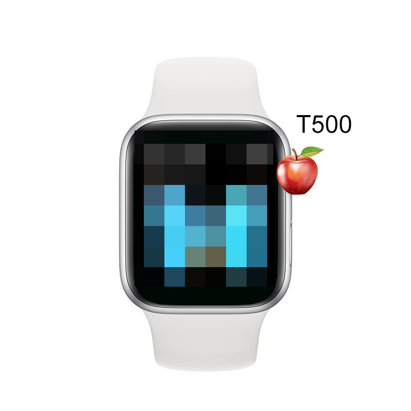 1.54 Inch W34 Smart Watch T500 Phone Heart Rate Blood T55 Pressure Support Android Ios W34 Smart Watch