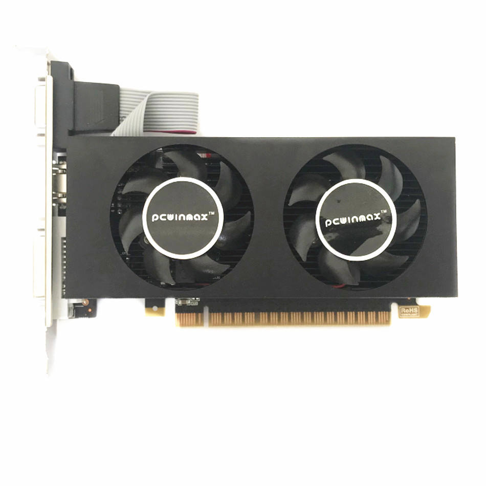 Computer GTX750Ti 4G Low Profile Graphic CardためGaming