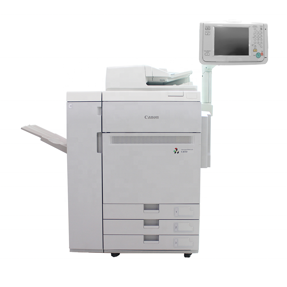 High quality Used Copiers Machine for Canon photocopier C800 A3 Printer