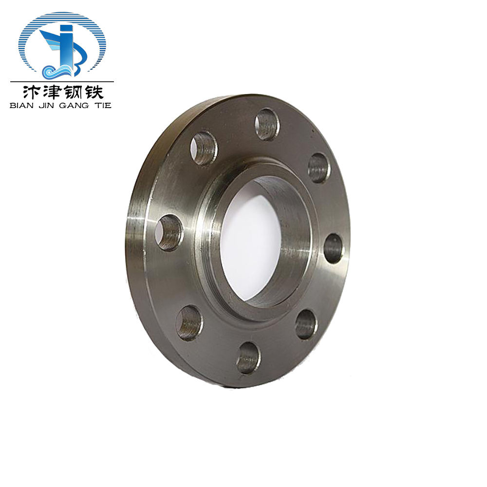 High quality pipeline forged ASTM stainless steel coupling pipe fitting flange