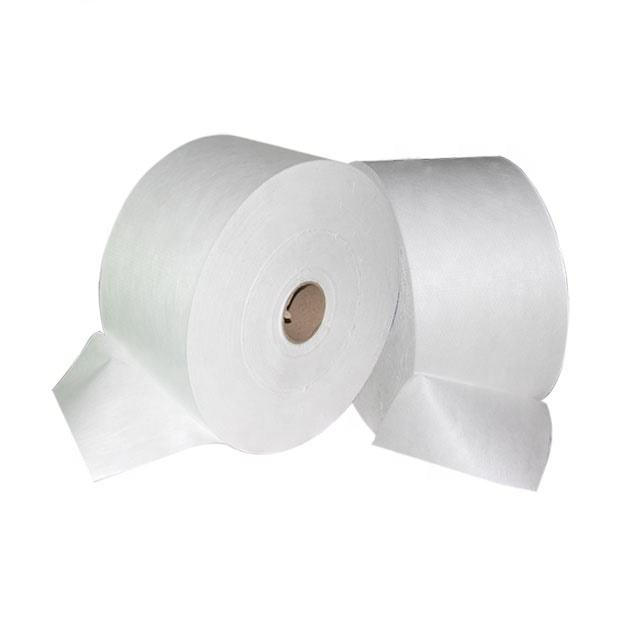 Nonwoven PP spunbond media white PP spacer for pocket filters