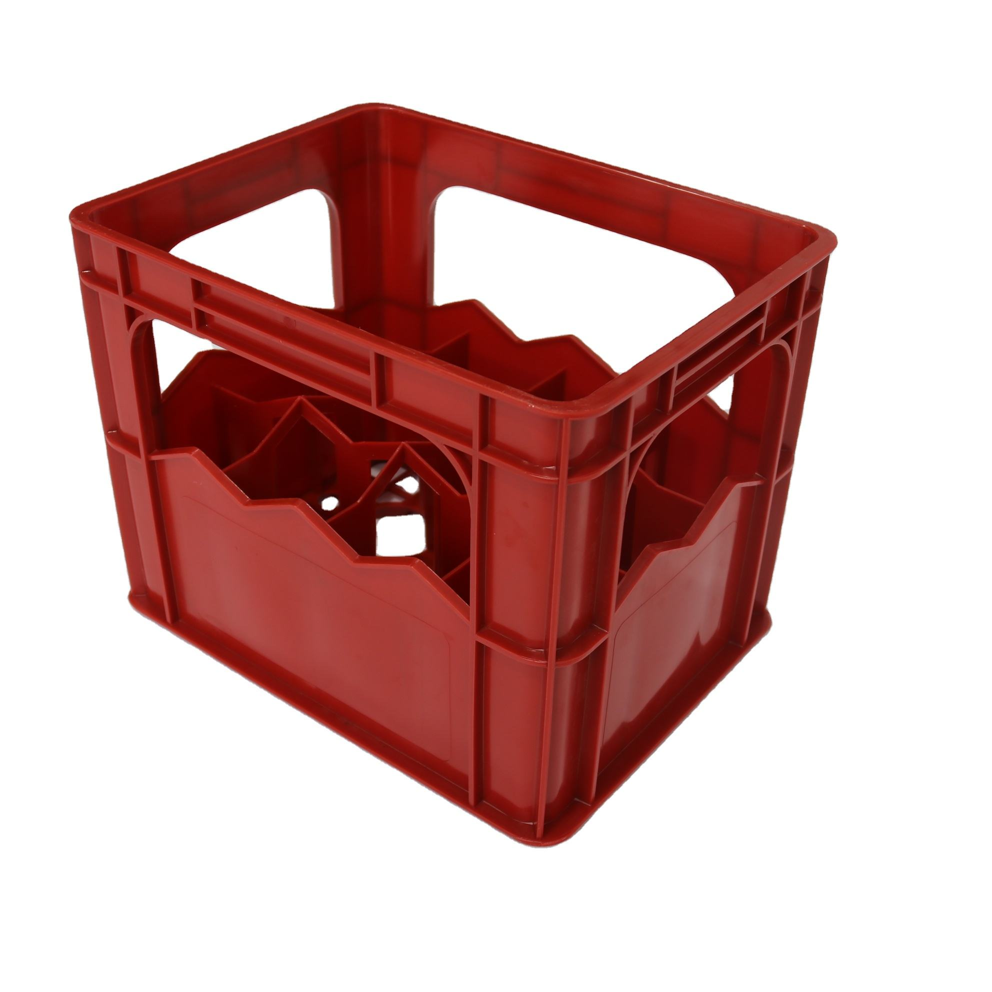 JOIN Plastic Wine Bottle Crate Manufacturer Stock Beverage Container For Beer Bottles
