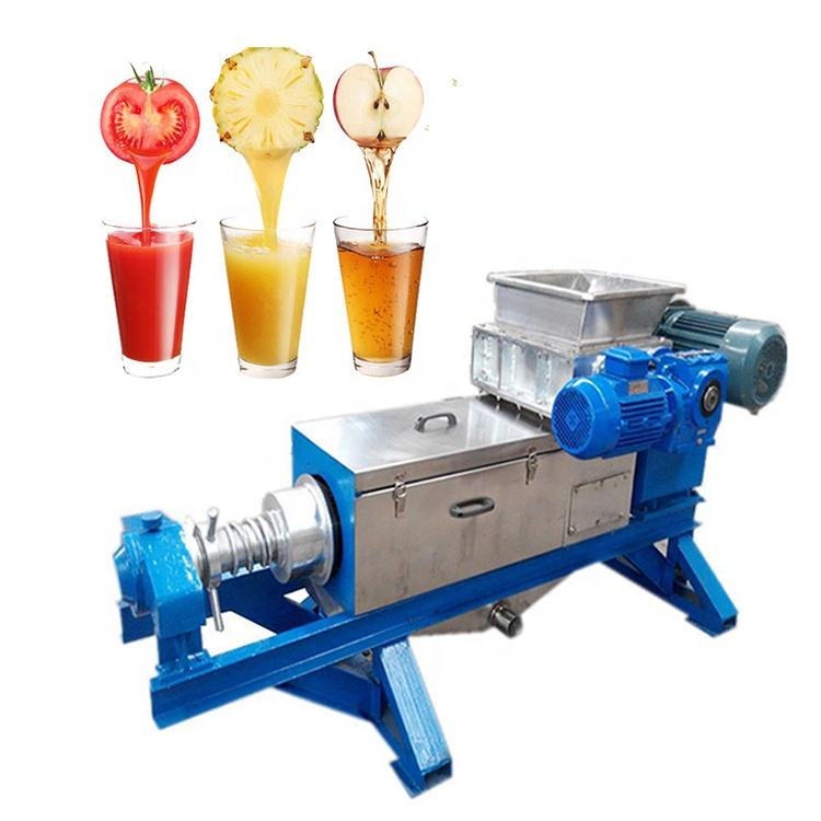 New style apple juicer industrial vegetables and fruits screw press dehydrator machine