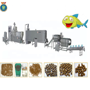 automatic floating fish feed pellet farm machine