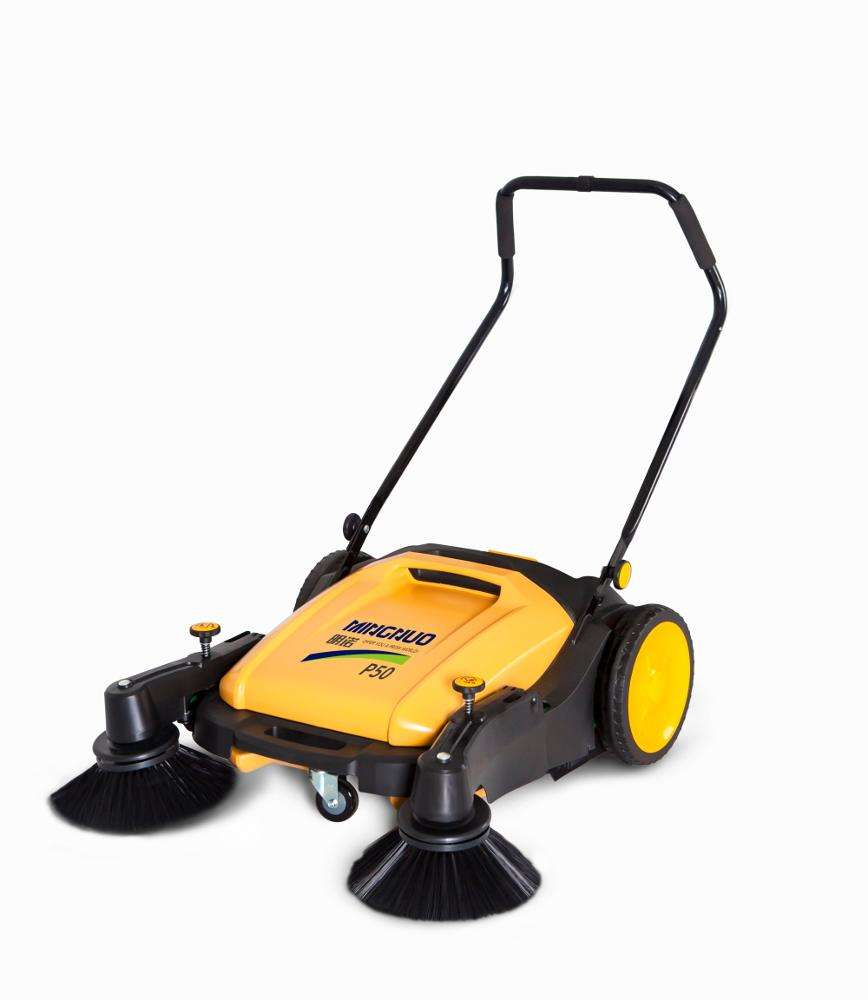 Energy Mining [ Hand Push ] Push Sweeper Floor Sweeper MN-P50 Hand Push Type Sweeping Machine Handheld Floor Sweeper Manual Road Sweeper