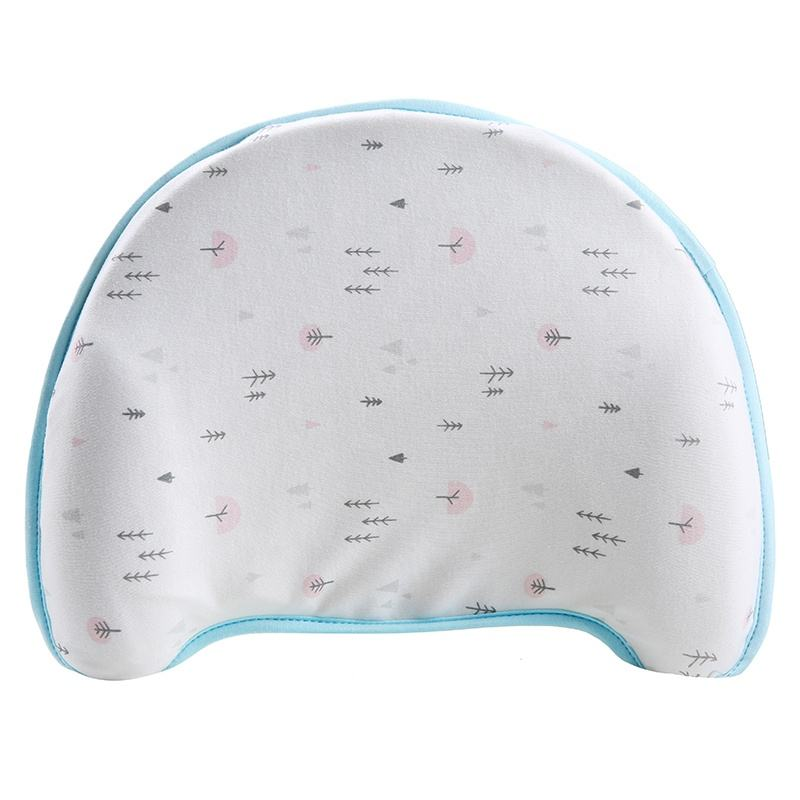 Baby Pillow for Flat Head Syndrome Prevention, Prevent Plagiocephaly for Infants and Newborn Registry, Head Shaping Pillow