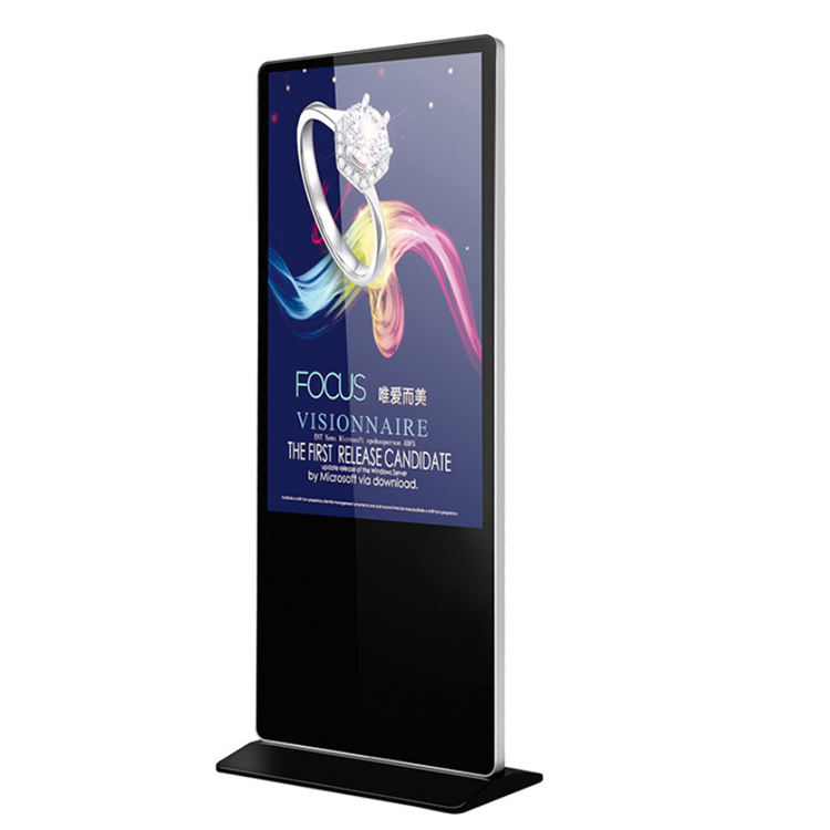 Factory Custom touch screen displays android tv digital signage with advertising display systems