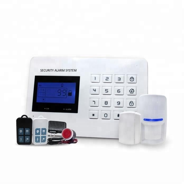 2020 Newest Security Alarm System PSTN/GSM Smart Home Alarm with Android /IOS APP Control