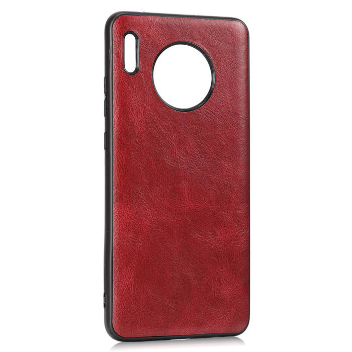 PU Cellphone Case for Huawei Mate 30 P30 Pro Samsung Note 20 New Crazy Horse Leather Cover