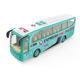 1:16 scale custom model die cast tour music bus toy for kids