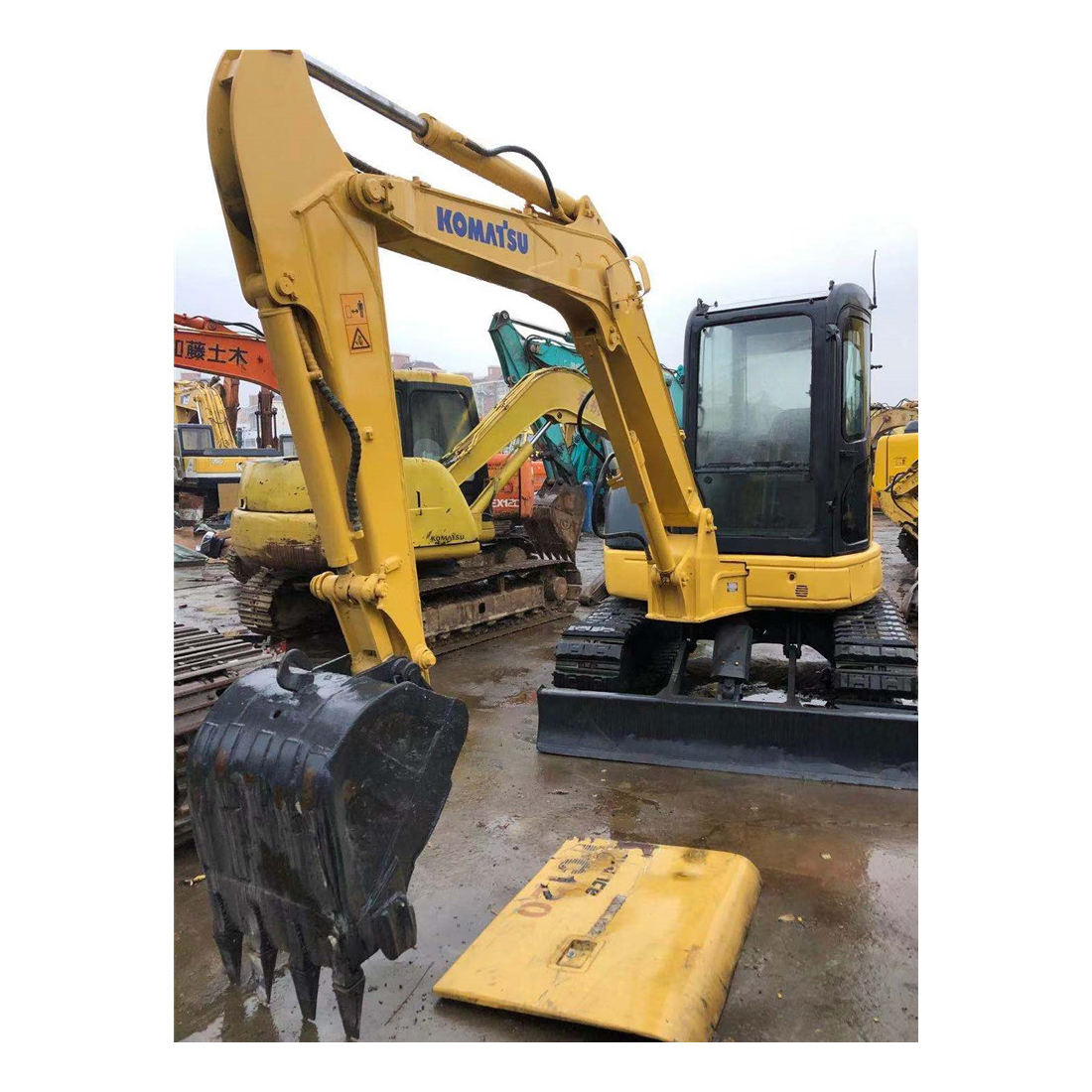 used mini excavator,used komatsu pc55mr excavator