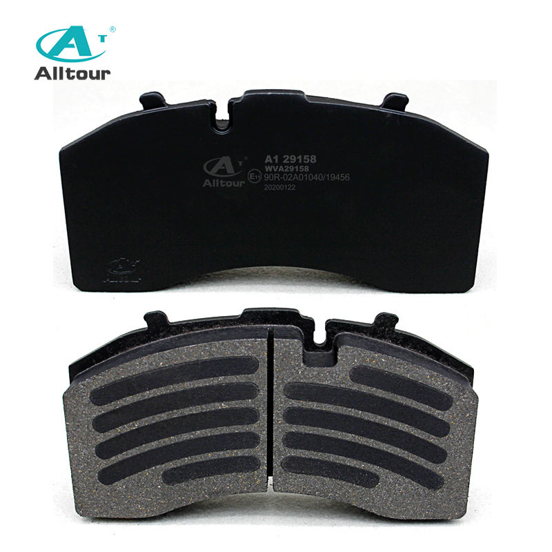 dIsc auto brake break pads29158 truck trailer brake pads for Mercedes Benz SAF with Emark