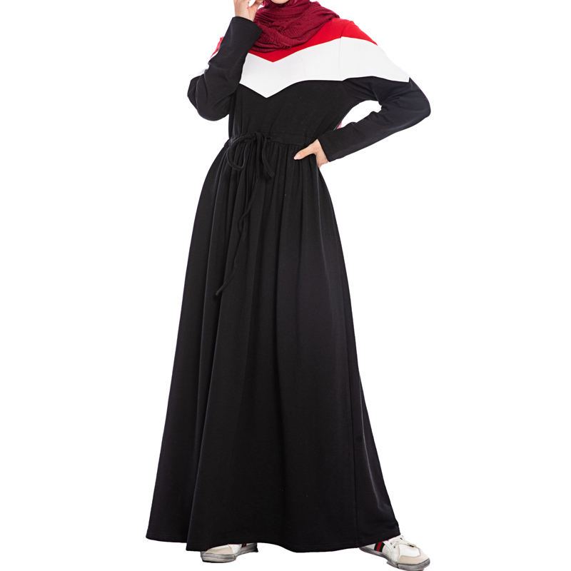 Fall and Winter 2009 Hot Selling Fashion Large Size Women's Dresses Long Suit with Guard Clothes Abaya Dresses