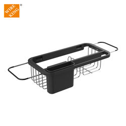Wholesale Household Storage Kitchen Racks and Holders Sink Cleaning Tool Rack Sinkware Caddy