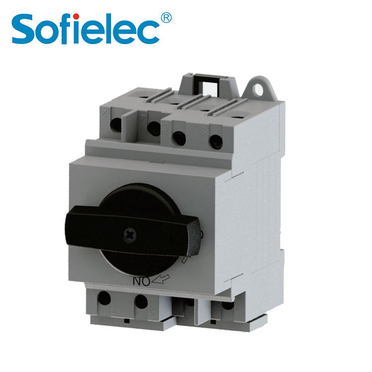 DC Isolator Switch NL1-T Series Single Phase Solar Power Outdoor PV Isolating Rotery Disconector