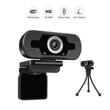 Loosafe Auto Focus Web Video Conference Camera HD 2.0MP USB Cam Webcam For Video Call Meeting Broadcast Live For Pc