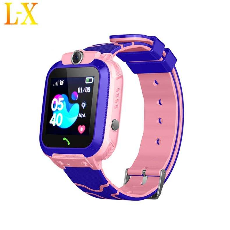 Newest Q12 Waterproof Ip68 Kids Gps Watch With Two Way Calling/Voice Chat/Sms/One Key Sos/One Listening/Geo-Fence/Pedometer