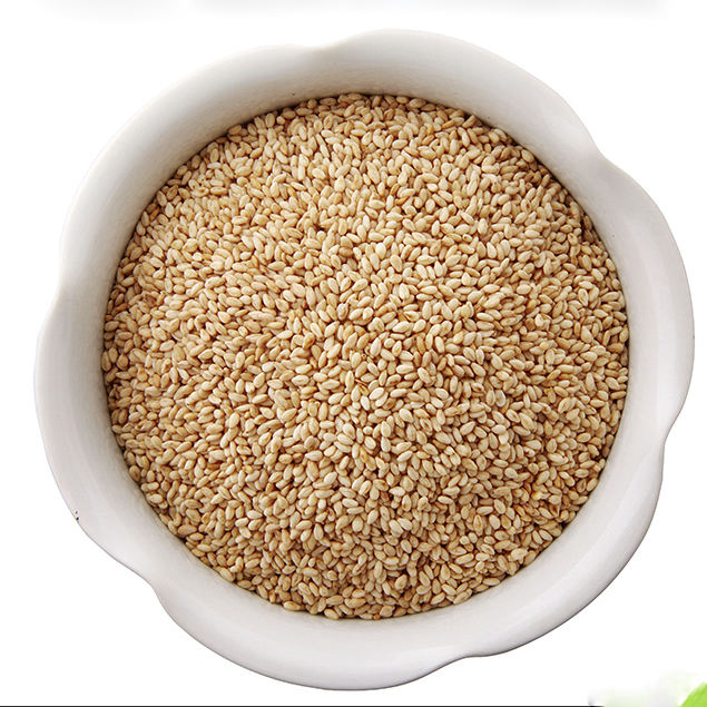 Roasted Organic White sesame seeds