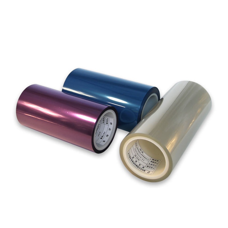China supplier customize color plastic clear pet film rolls