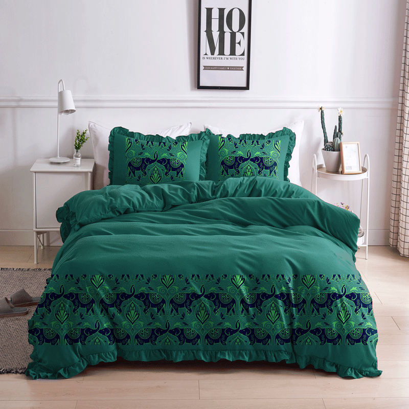 Luxury Comforter 3Pcs Bed Sheet Set With King Size