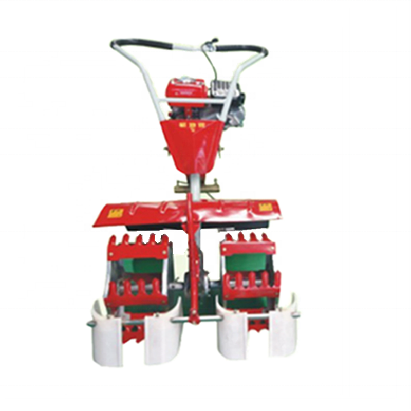 Hot Sale 2 Row Mini Power Tiller Paddy Field Rice Weeder