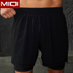High Quality Running Men Training Sport Shorts Wholesale Custom Polyester Exercise Casual Gym Shorts for Men