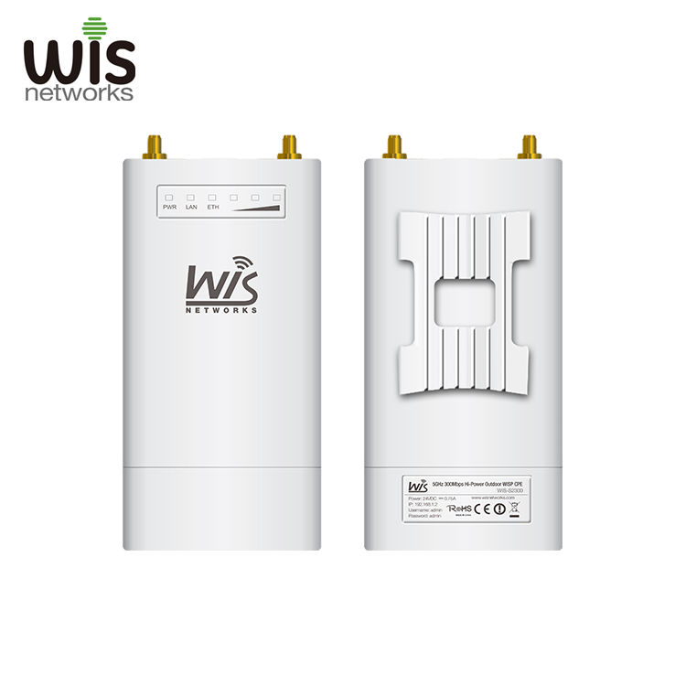 Wisnetworks S2300 2.4GHz&5GHz 300Mbps Outdoor Hi-Power Wireless/Wifi TDMA Base Station for Ubiquiti Rocket M2