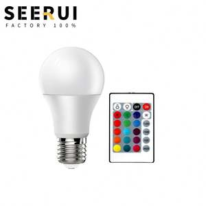 Cambodia led ceiling light bulb replacement, Remote control color smart bulb dimming lamp