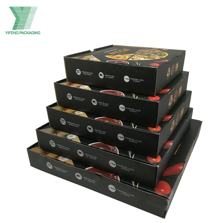 CHINA Guangzhou 5 Size Cheap Color Printing Pizza Box in Stock for sale