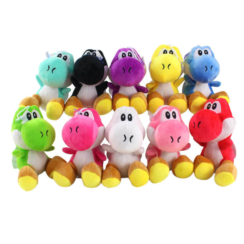 Cheapest Japanese video games pp stuffed mario yoshi plush figure super mario bros figures plush dolls toy for gift