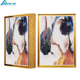 A2 A3 A4 Gallery Exhibition Floater Oil Painting Photo Picture Canvas Frames