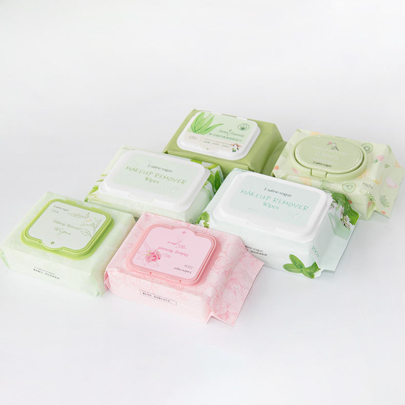 the best private label custom logo makeup remover wipes natural organic makeup cleansing make up remover wet wipes