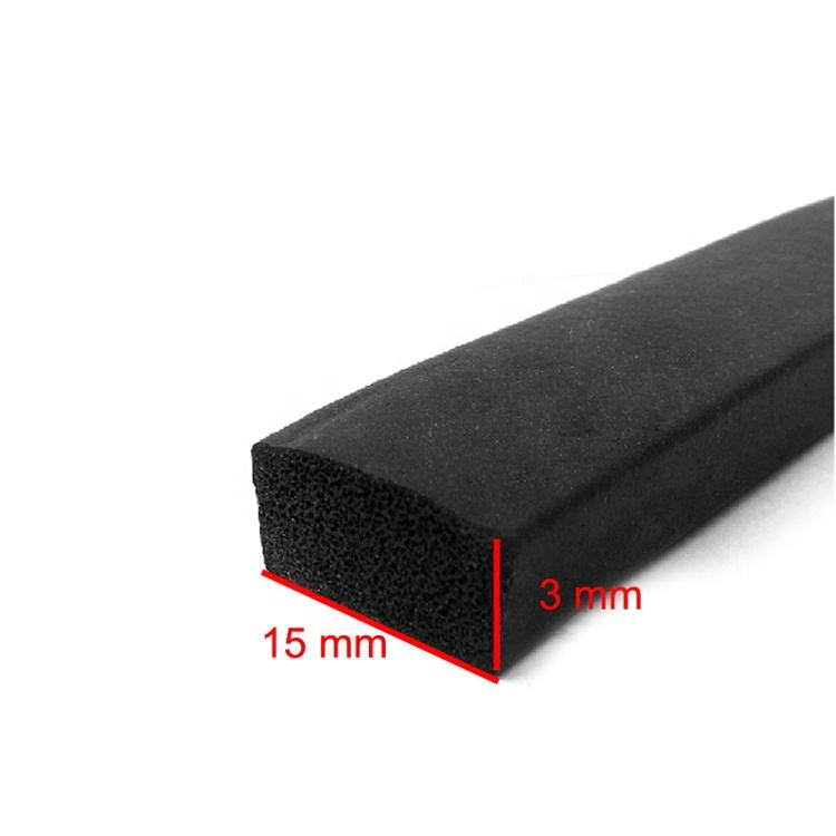 Nonstandard Extrusion Sealing Polyurethane Foam Strips