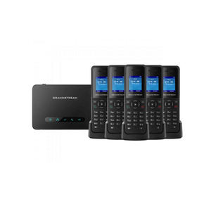 Portable 2.4G & 5G Wifi VOIP SIP Phone 1 SIP Akun Cordless IP Phone