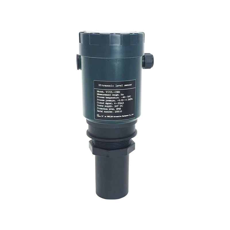 YOUL-CS62 Ultrasonic Level Transmitter Sensor Bahan Bakar Air Boiler Minyak Level Gauge