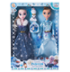 Hot Movie Frozen Doll Elsa and Anna Frozen PVC Dolls 11.5inch Frozen Gift Toys for girls