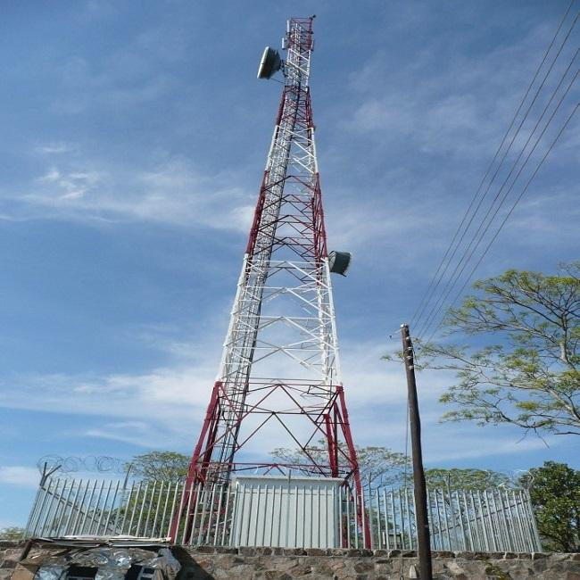 60m telecommunication angle steel tower