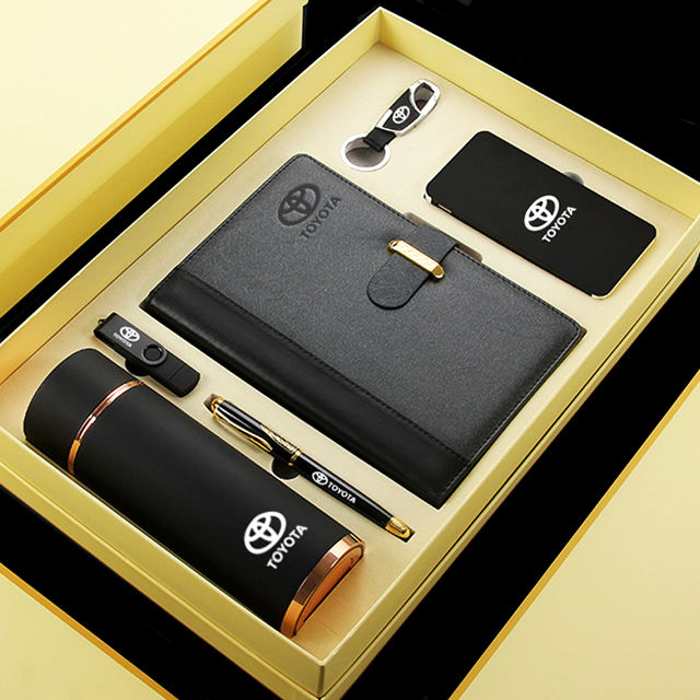 Cheap Price Personality Customized Logo Box Gift High-end Company Office Gift Set Low MOQ Wholesale Business Gift Set
