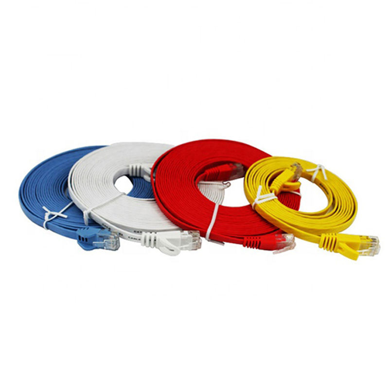 UTP Flat Cat.6 Patch Cable Network Cable Color Code Cat6