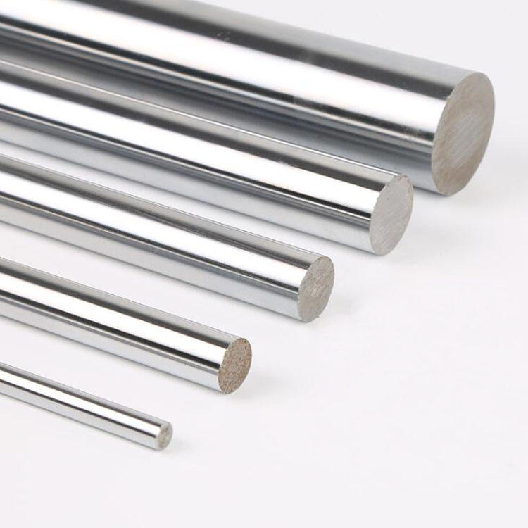 6mm 8mm 10mm 12mm chrome Carbon steel hardened steel linear rod with smooth finished end
