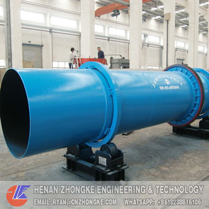Small medical waste incinerator rotary kiln for hospital garbage treatment