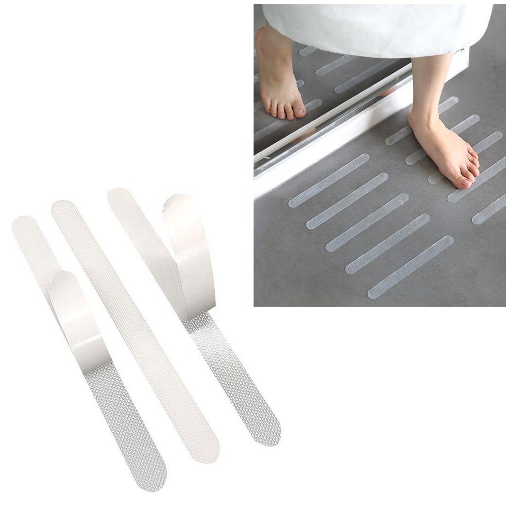 Clear PEVA Bathroom Swimming Pool Skin Friendly Transparent Anti Slip Tape