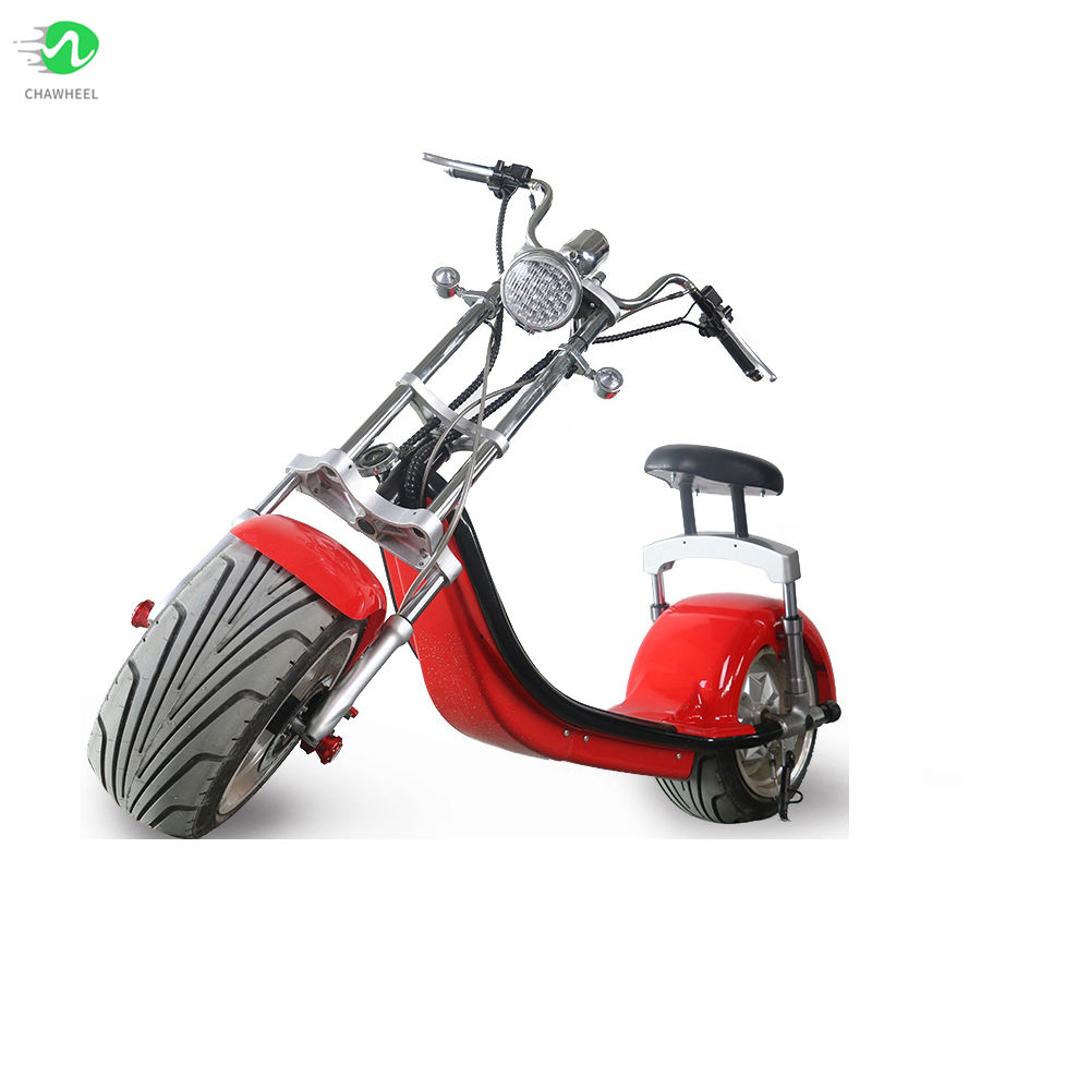 E Twee Motor <span class=keywords><strong>C</strong></span> Soort Ophanging 1500W Angel Licht Elektrische Scooter